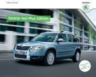 ŠKODA Yeti Plus Edition