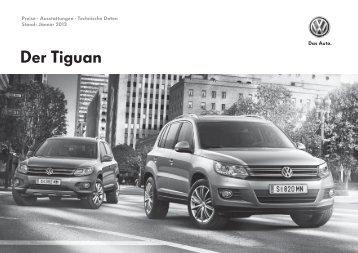 Preise · Ausstattungen - Volkswagen Österreich