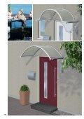Vordächer aus Aluminium und Edelstahl ... - Portal Vordach - Seite 4