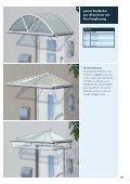 Vordächer aus Aluminium und Edelstahl ... - Portal Vordach - Seite 5