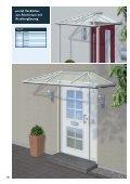 Vordächer aus Aluminium und Edelstahl ... - Portal Vordach - Seite 6