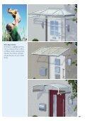 Vordächer aus Aluminium und Edelstahl ... - Portal Vordach - Seite 7