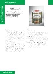 Nature und Oliwax Produkte NL Bienenwachs - Waage