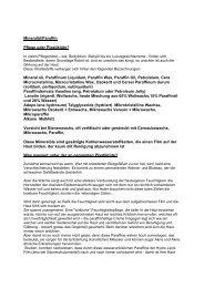 Mineralöl/Paraffin Pflege oder Plastiktüte ... - Cosmetics & more