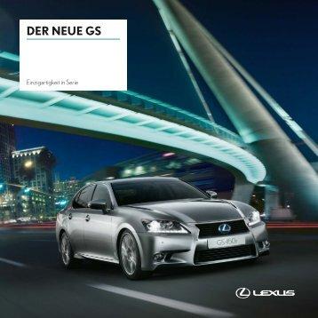 DER NEUE GS - Lexus