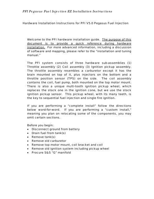 Fuel Inject Documents Similar | Asdela