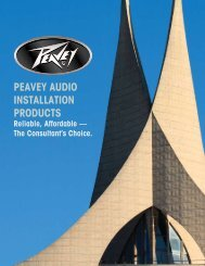 to download pdf - Peavey