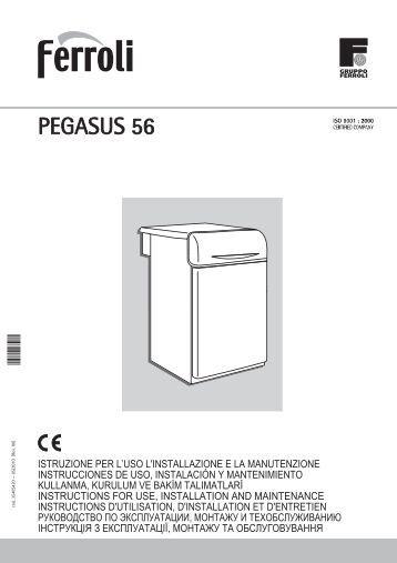 Pegasus 56 Manual - Ferroli