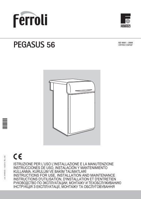 Optima 901 user instructions ferroli.