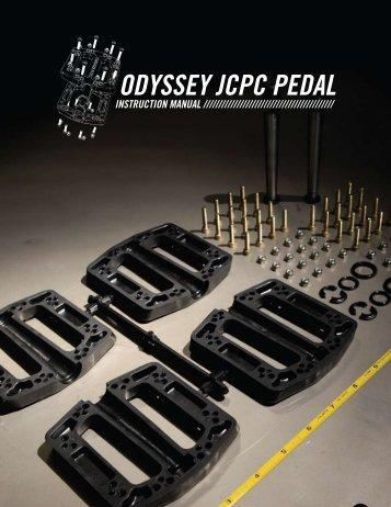 odyssey jcpc pedal instruction manual - Odyssey BMX