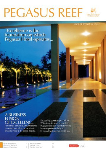 Pegasus Hotels of Ceylon PLC - 2011/2012 - Carson and ...
