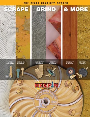The Pearl Hexpin™ System - Pearl Abrasive Co.