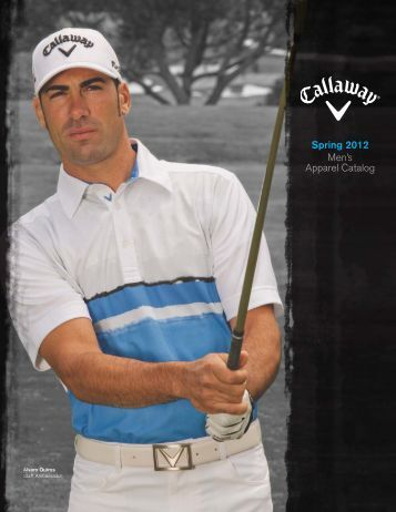 Spring 2012 Men's Apparel Catalog - MultiVu