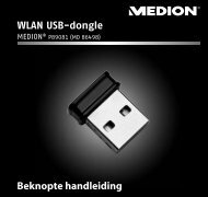 WLAN USB-dongle - medion