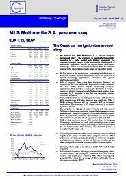 Greek Car Navigation Market - MLS