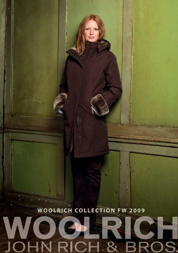 WOOLRICH COLLECTION FW 2009