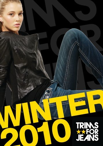 Men's Clothing and Unisex Footwear - Trims For Jeans