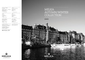Melka autuMn/winter ColleCtion