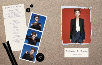 Download Lookbook - Dylan & Rose