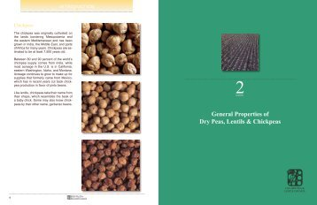 General Properties of Dry Peas, Lentils & Chickpeas - USA Dry Pea ...