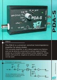 PDA-S Flyer 06-2011.cdr - TEM Messtechnik GmbH