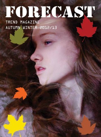 Trend magazine aUTUmn WinTer 2012/13 - CPL Aromas
