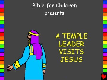 A Temple Leader Visits Jesus English PDA - Bible for Children