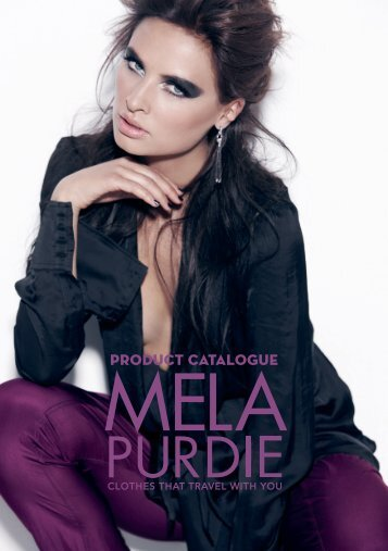 PRODUCT CATALOGUE - Mela Purdie