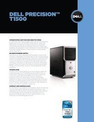 DeLL precision™ t1500