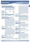 Közlemény - Hungaropharma ZRt. - Page 5