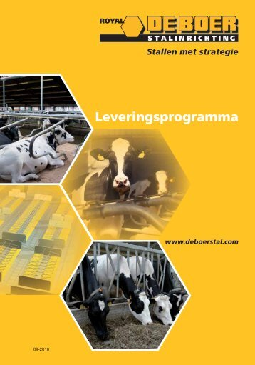 Leveringsprogramma - De Boer - stalinrichting