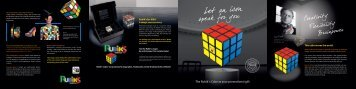 The Rubik´s Cube as your promotional gift - Primeline