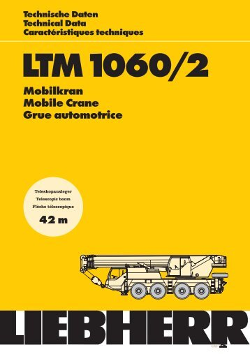LTM1060/2 Technische Daten Technical Data ... - Lahofer