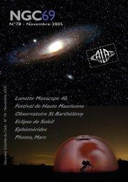 NGC69 - Club d'Astronomie de Lyon Ampère