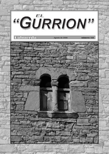 gurrion 112.indd - Revista El Gurrión