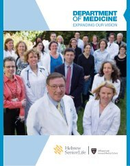 Department of Medicine Annual Report - Edwards Communications