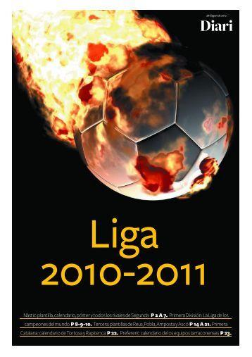 Calendario de Liga Primera Catalana Calendario de Liga Primera ...