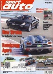 Sport Auto - Januar 2011 - KW-News Login