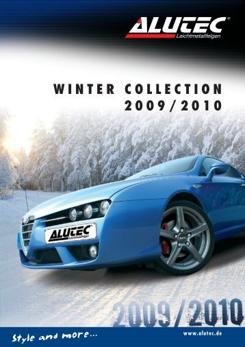 WINTER COLLECTION 2009/2010