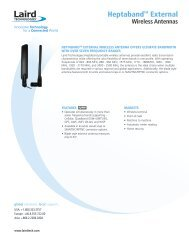 Wireless Antennas - Laird Technologies