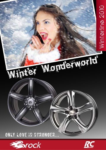 kristallsilber - Brock Alloy Wheels