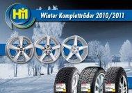 Winter Kompletträder 2010/2011 - Reifen Hartmann Pirna