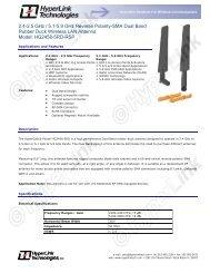 2.4-2.5 GHz / 5.1-5.9 GHz Reverse Polarity-SMA Dual Band Rubber ...