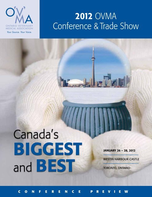 2012 ovMa ConFerenCe-Canada's Biggest and Best - DVMelite