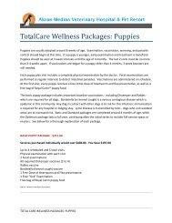 Puppies - Akron-Medina Veterinary Hospital & Pet Resort