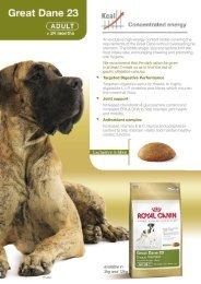Royal Canin Great Dane 23 dog food - My Pet Care Supplies.com