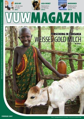 WeiSSeS Gold Milch - Veterinärmedizinische Universität Wien