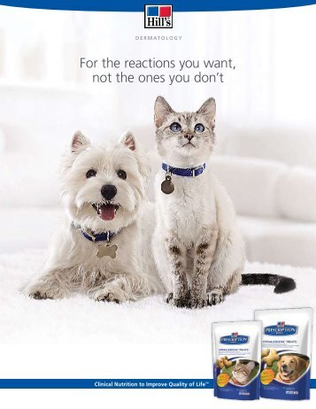 It's not a mIracle, It's the power of precIse nutrItIon. - HillsVet