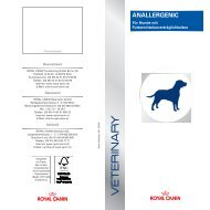 ANALLERGENIC - ROYAL CANIN Tiernahrung GmbH & Co. KG