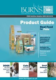 Product Guide - Burns Pet Nutrition